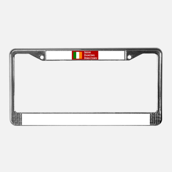 Irish Dancing Directory License Plate Frame