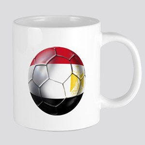 Egypt Soccer Ball 20 oz Ceramic Mega Mug