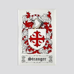 Stranger Rectangle Magnet