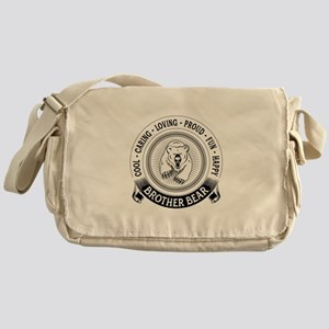 Fiercely Protective Brother Bear Messenger Bag