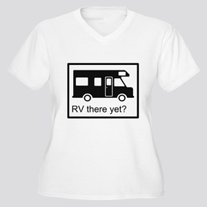 RV there yet? Women's Plus Size V-Neck T-Shirt