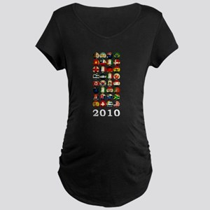 South Africa World Cup 2010 Maternity Dark T-Shirt