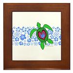 ILY Hawaii Turtle Framed Tile