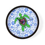 ILY Hawaii Turtle Wall Clock