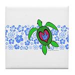 ILY Hawaii Turtle Tile Coaster