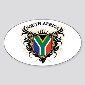 South Africa Sticker (Oval)