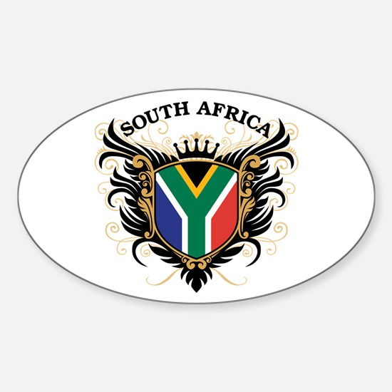 South Africa Sticker (Oval)