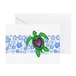ILY Hawaii Turtle Greeting Cards (Pk of 10)