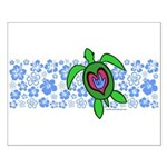 ILY Hawaii Turtle Small Poster
