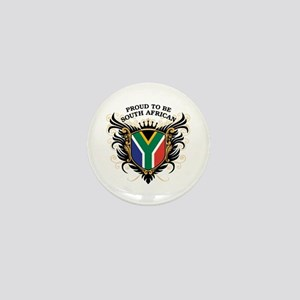 Proud South African Mini Button