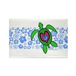 ILY Hawaii Turtle Rectangle Magnet (100 pack)
