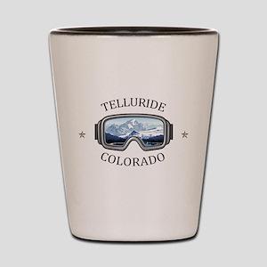 Telluride Ski Resort - Telluride - Co Shot Glass