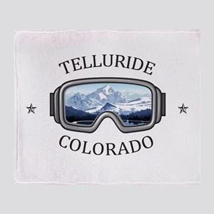 Telluride Ski Resort - Telluride - Throw Blanket