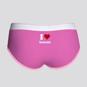 I heart bacon Women's Boy Brief