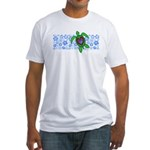 ILY Hawaii Turtle Fitted T-Shirt