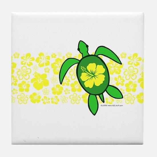 Hawaii Turtle Tile Coaster