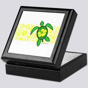 Hawaii Turtle Keepsake Box