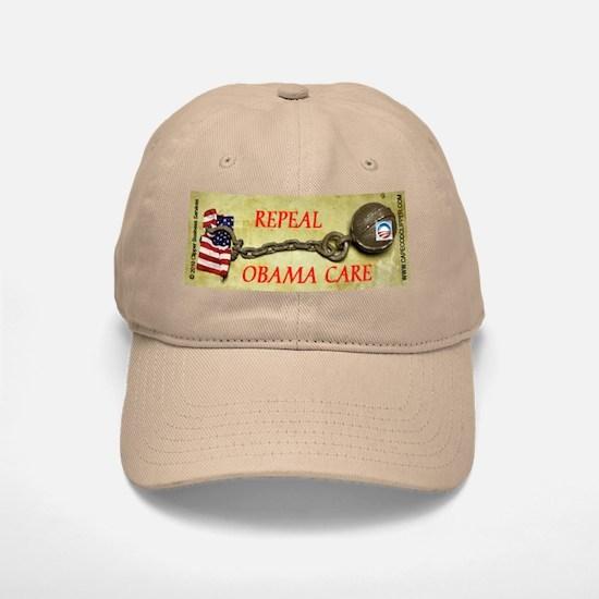 Repeal Obama Care Baseball Baseball Cap