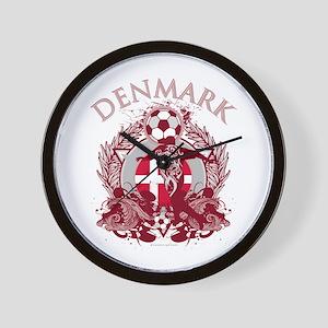 Denmark Soccer Wall Clock