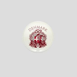 Denmark Soccer Mini Button