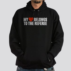 My Heart Belongs To The Referee Hoodie (dark)