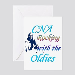 cna rocking copy Greeting Cards