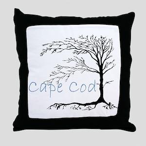 Cape Cod Primitive Throw Pillow