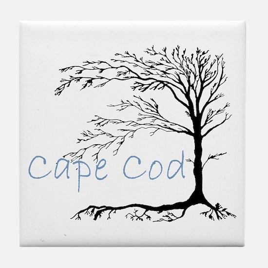 Cape Cod Primitive Tile Coaster