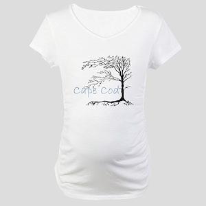 Cape Cod Primitive Maternity T-Shirt
