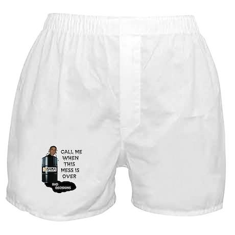 SLICK AND OILY BARACK Boxer Shorts