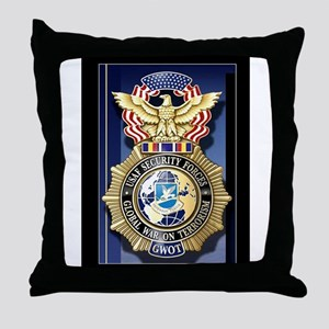 USAF Police GWOT Throw Pillow