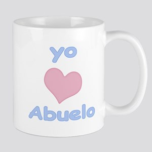 I Heart Grandpa Spanish Mug