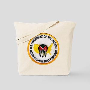 Indian Highway Safety Program Tote Bag