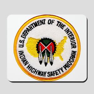 Indian Highway Safety Program Mousepad