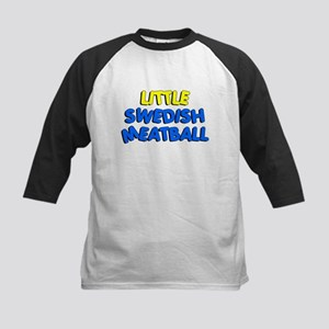 Little Swedish Meatball Kids Baseball Jersey