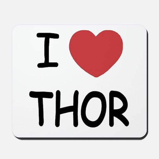 I heart Thor Mousepad