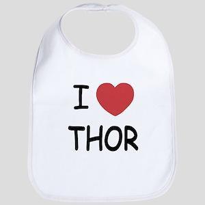 I heart Thor Bib