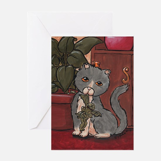 Great Huntess - Cthulhu Greeting Card