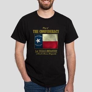 1st Texas Infantry Dark T-Shirt