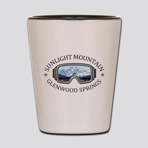 Sunlight Mountain Resort - Glenwood S Shot Glass