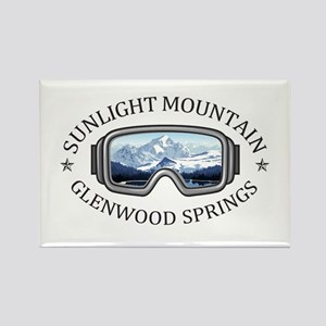 Sunlight Mountain Resort - Glenwood Spri Magnets