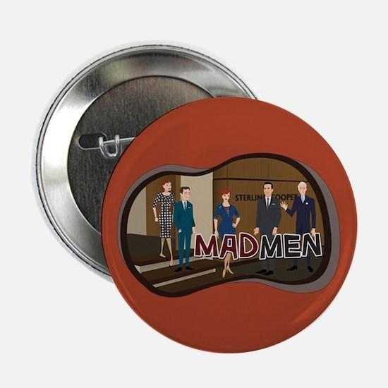 "Sterling Cooper Mad Men 2.25"" Button"