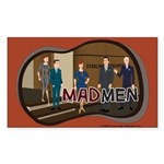 Sterling Cooper Mad Men Sticker