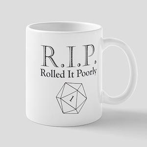 Rolled It Poorly (RIP) Mug