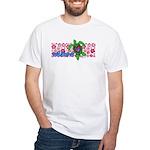 ILY Aloha Hawaii Turtle White T-Shirt