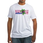 ILY Aloha Hawaii Turtle Fitted T-Shirt