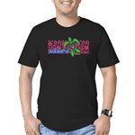 ILY Aloha Hawaii Turtle Men's Fitted T-Shirt (dark