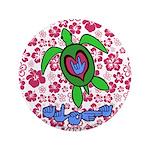 ILY Aloha Hawaii Turtle 3.5