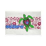 ILY Aloha Hawaii Turtle Rectangle Magnet (100 pack
