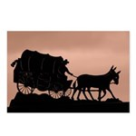Wagon Train Postcards (Package of 8)